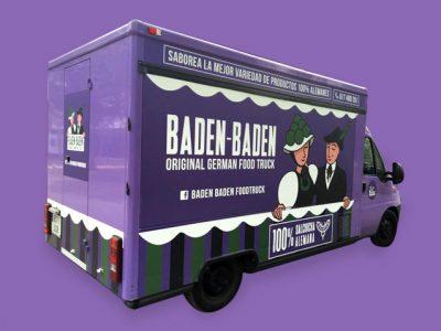 Baden Baden Food Truck - Branding, Rotulación, Packaging