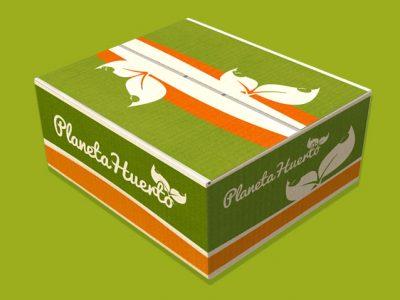Planeta Huerto - Diseño de Packaging, diseño gráfico