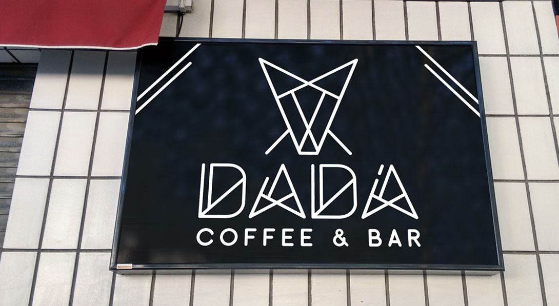 Branding Dadá Coffee Bar