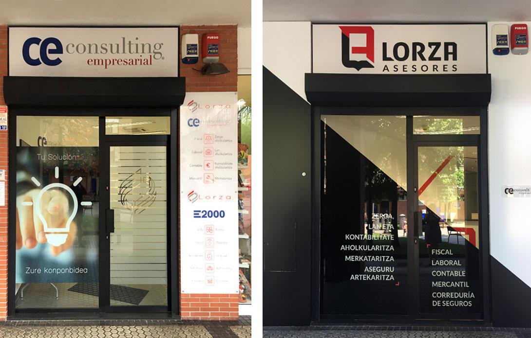 Lorza Asesores - Branding, papelería, diseño de fachada e interiores 3