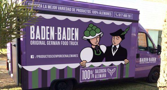 Rotulación Baden Baden Food Truck