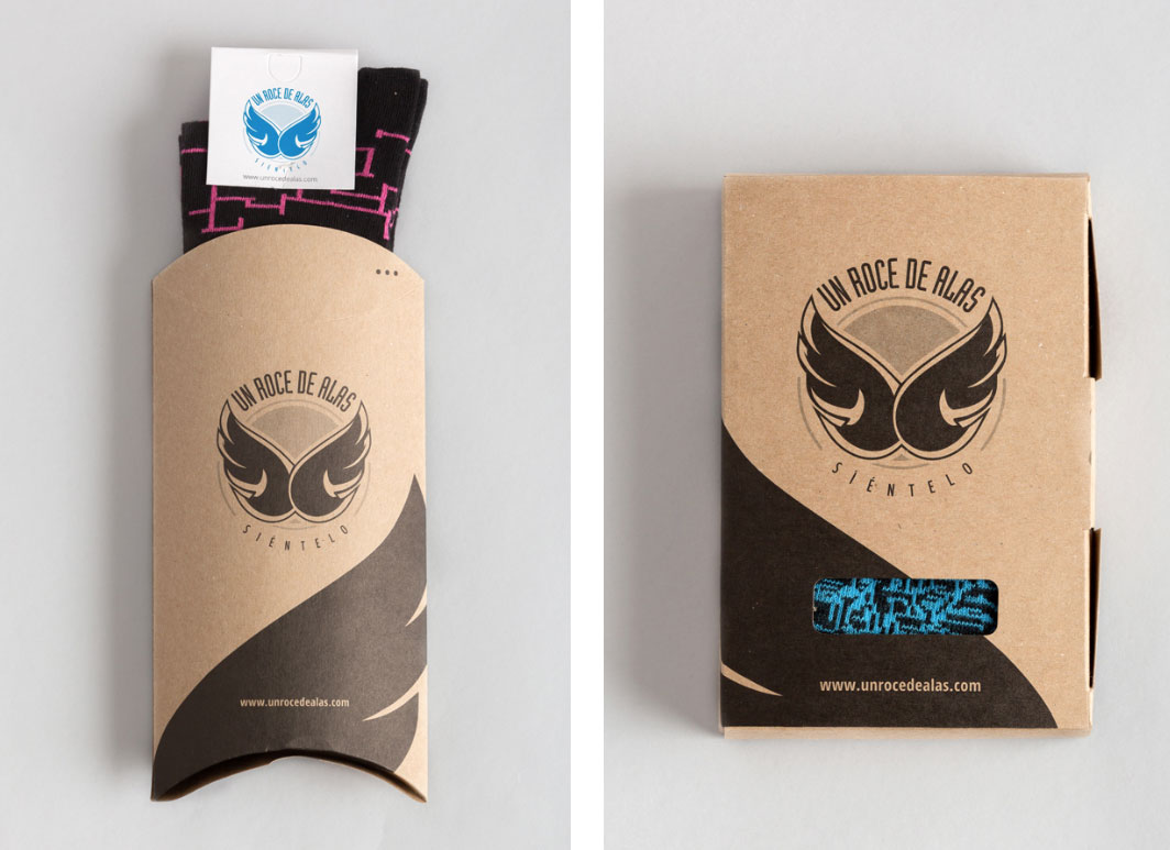 Un roce de alas - Branding & diseño de Packaging 2