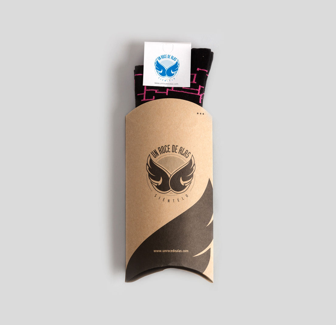 Un roce de alas Branding Packaging