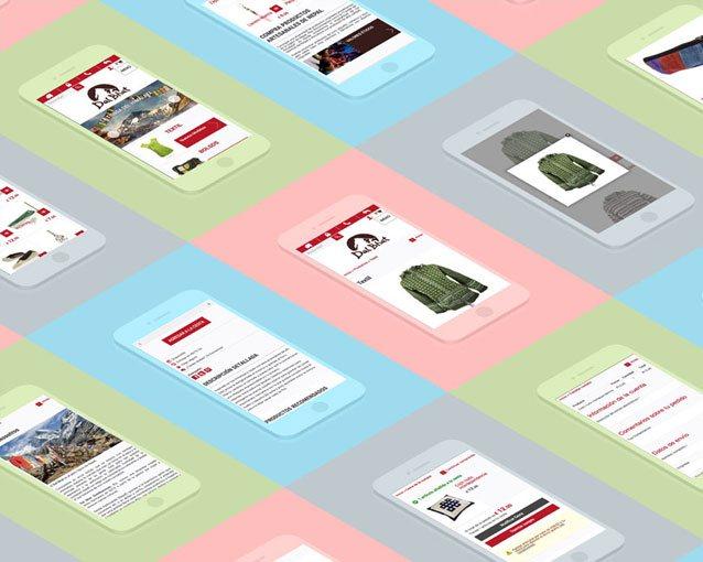 Dal Bhat - Branding / Tienda online