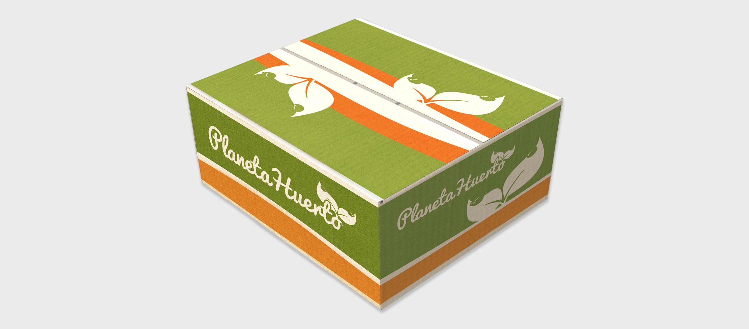 Planeta Huerto - Diseño de Packaging, diseño gráfico 2