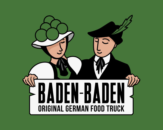Baden Baden Food Truck - Branding / Packaging / Rotulación