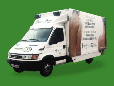 AECC Gipuzkoa – Campaña prevención de cáncer de piel