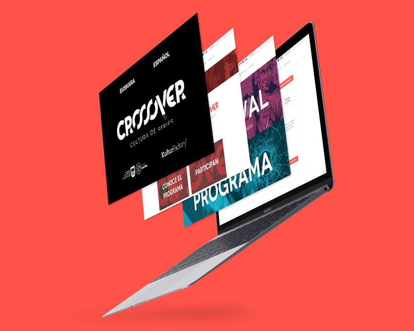 Crossover Festival de Series - Desarrollo web en colaboración con Buzzko