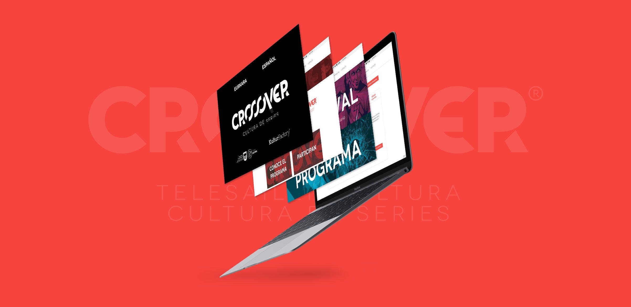 Crossover Festival de Series – Desarrollo web en colaboración con Buzzko