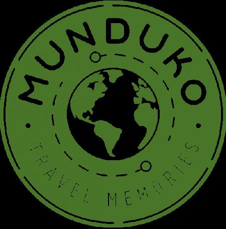 Diseño logotipo munduko travel memories