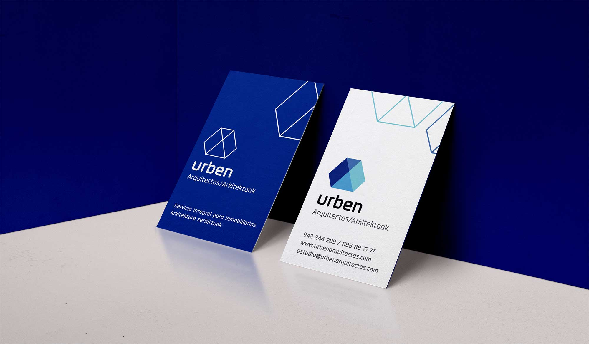 Diseño tarjeta Urben