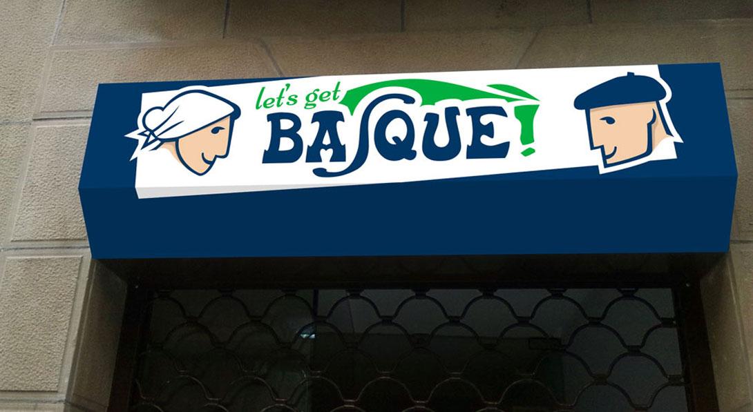 Diseño fachada Let's Get Basque