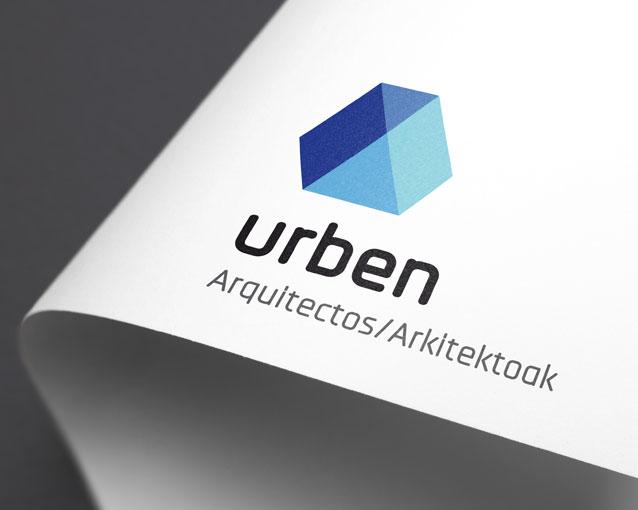 Diseño logotipo Urben Arquitectos