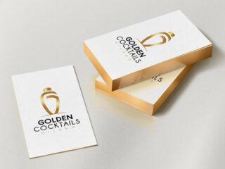Golden Cocktails Milano - Branding