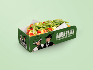 Baden Baden Food Truck - Packaging