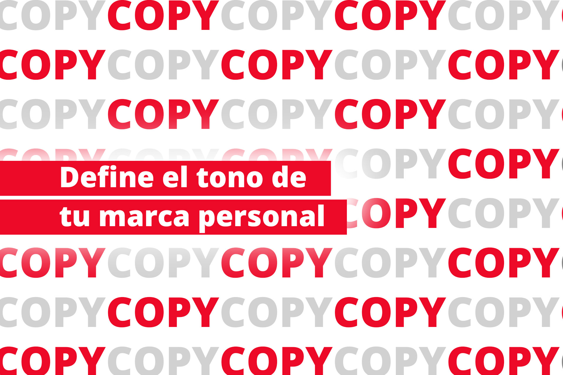Enamoradas del Copy Writing