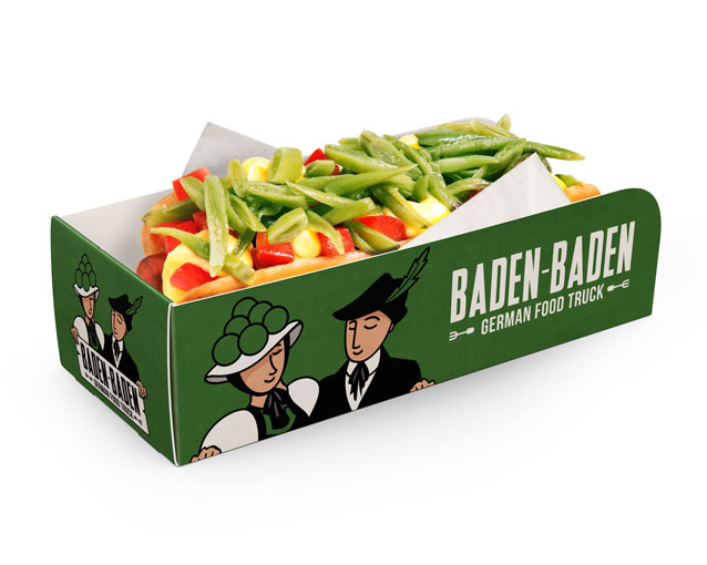 Baden Baden diseño de packaging