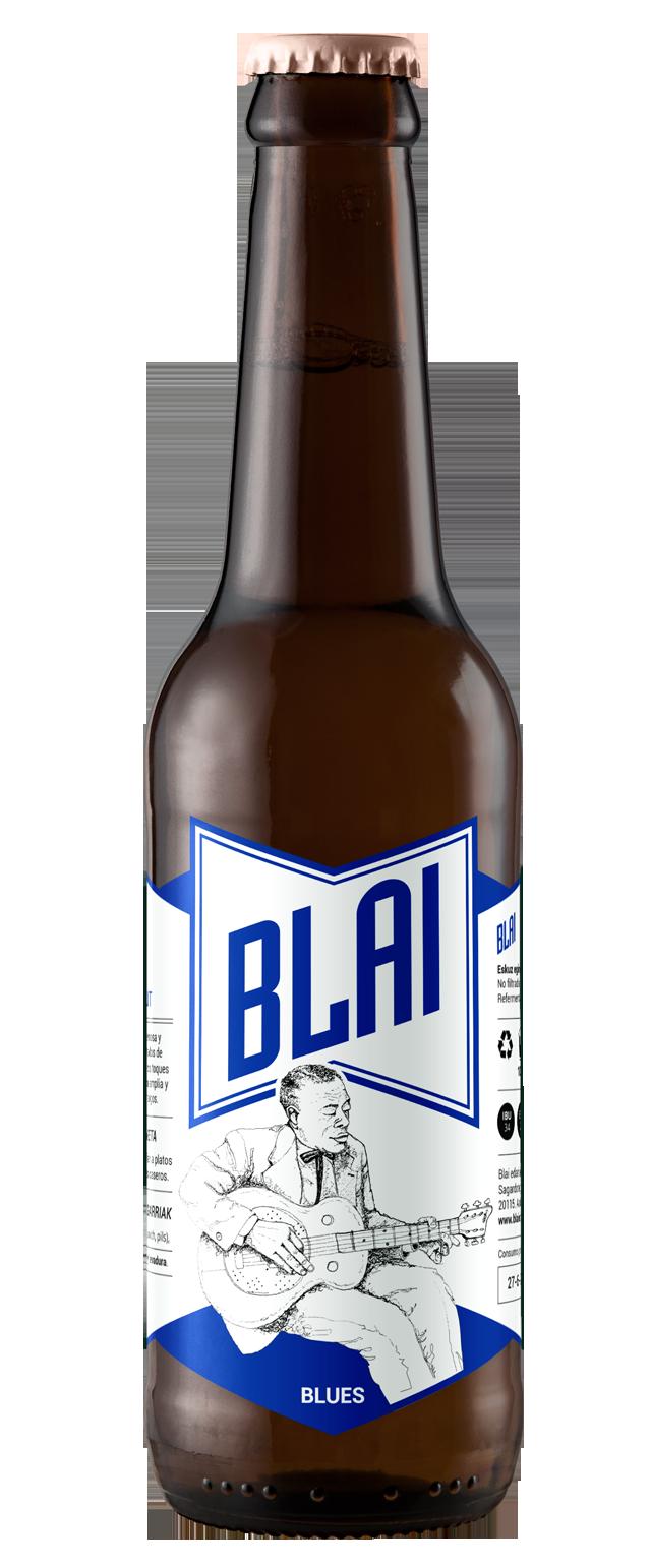 Blai / Cervezas artesanas - Marca, etiqueta, ilustración, web 3