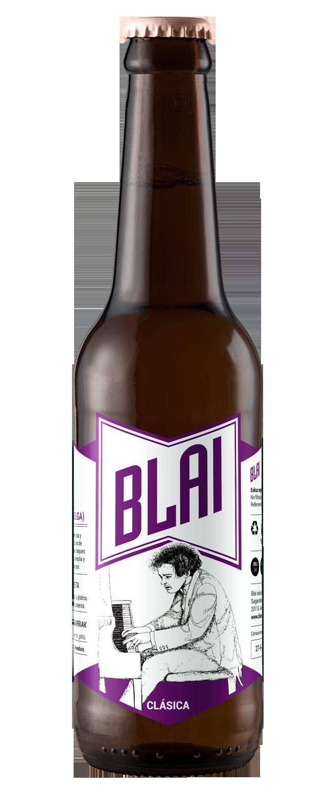 Blai / Cervezas artesanas - Marca, etiqueta, ilustración, web 4