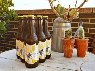 Blai / Cervezas artesanas - Marca, etiqueta, ilustración, web