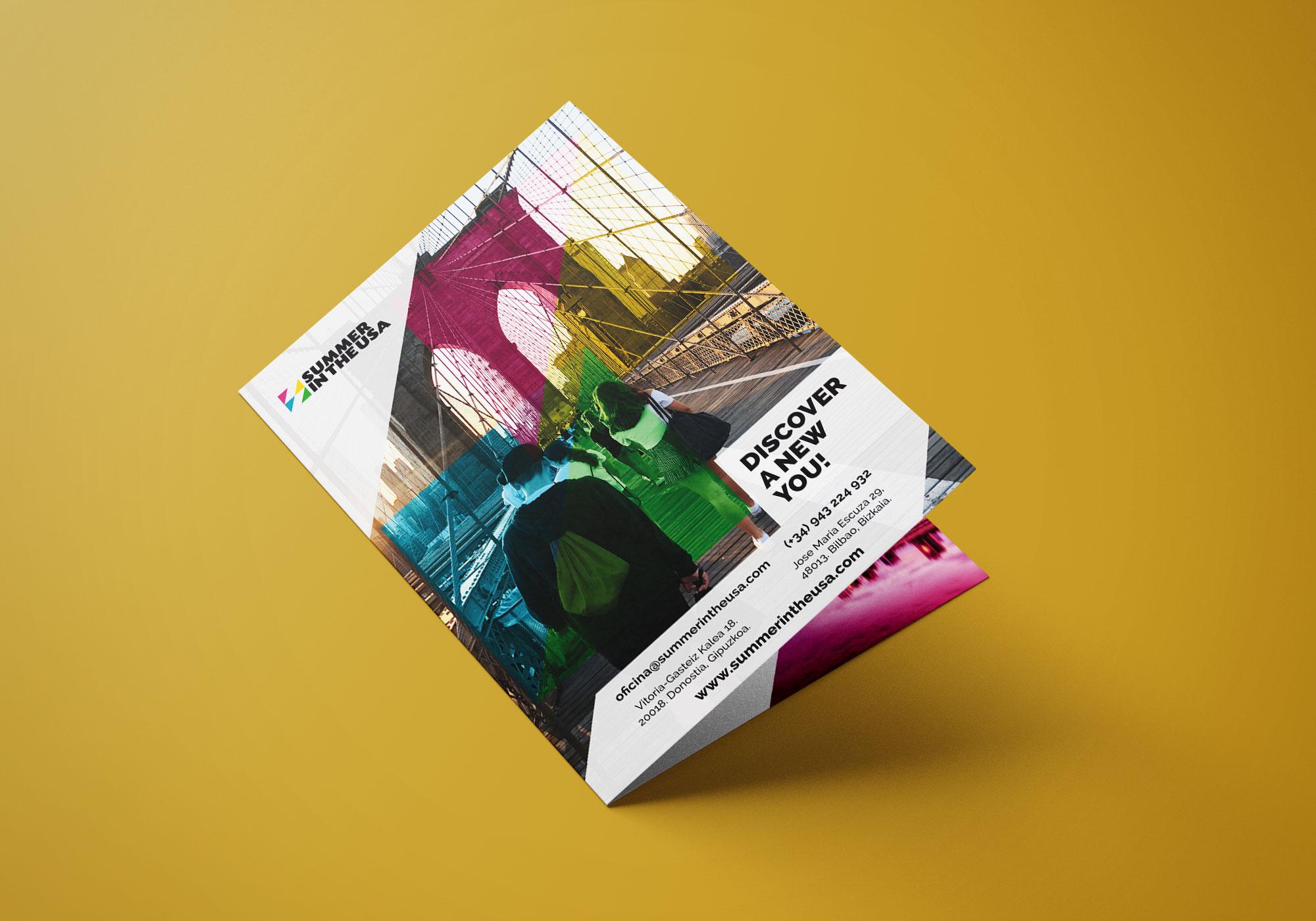Summer in the USA - Diseño díptico 2