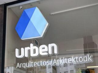 Urben Arquitectos – Marca, Web, rotulación y Photoshoot