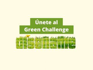 Únete al #GreenChallenge