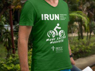 AECC Gipuzkoa - Diseño camiseta Cycling-zumba